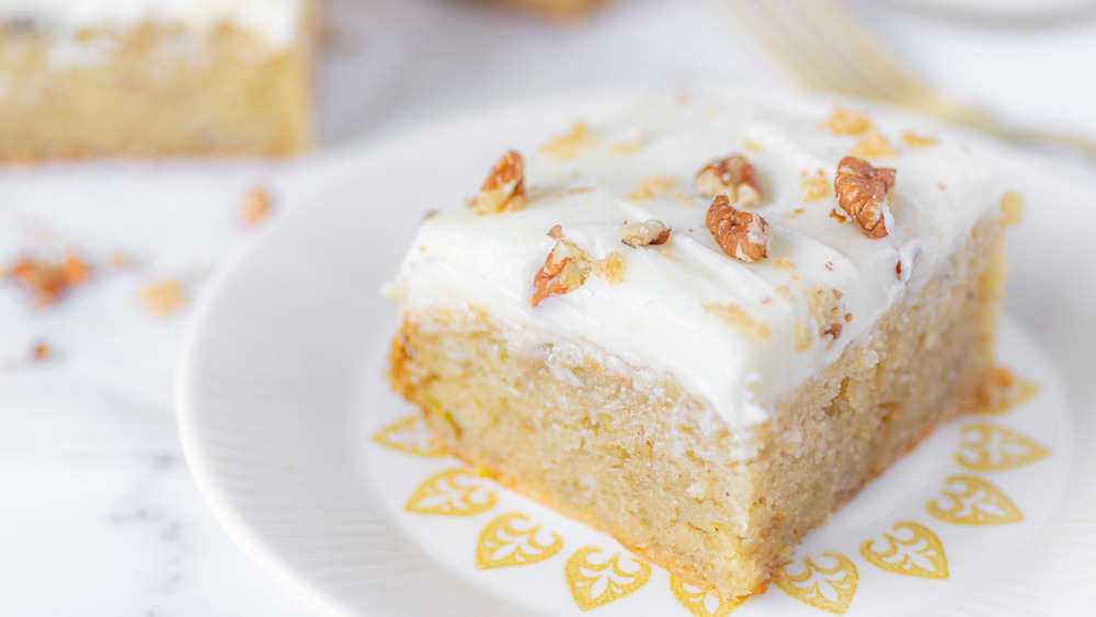 The banana cake recipe you didn't know you needed