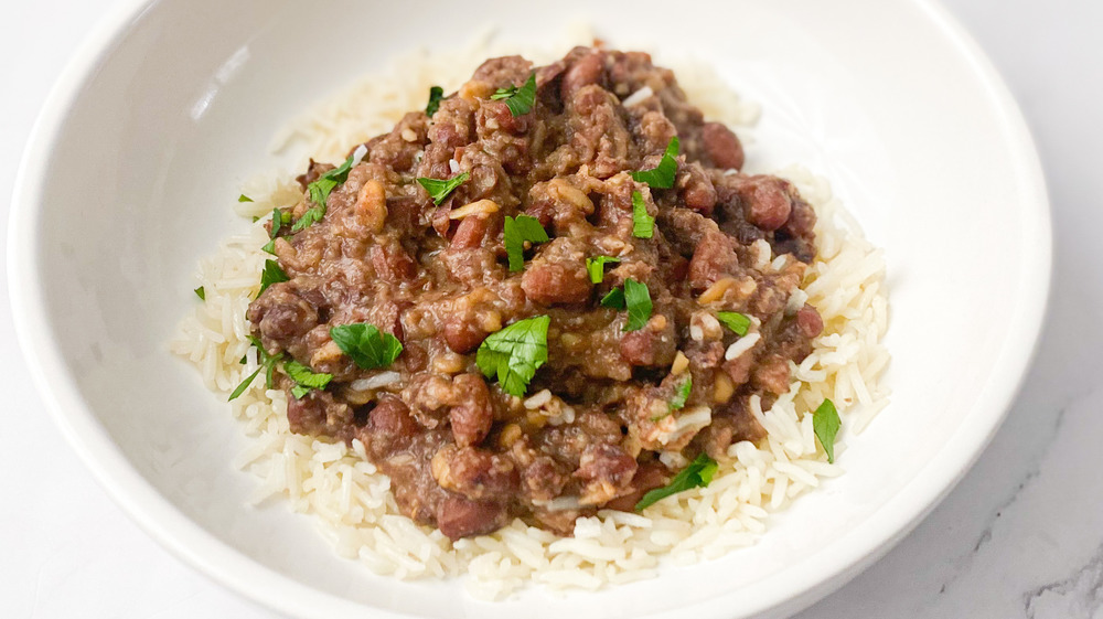 Copycat Popeyes Red Beans And Rice You'll Crave