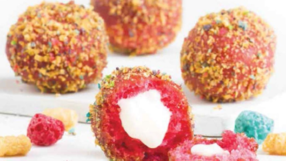 Cap'n Crunch Delights from taco bell