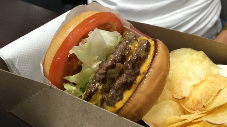 in-n-out burger double double