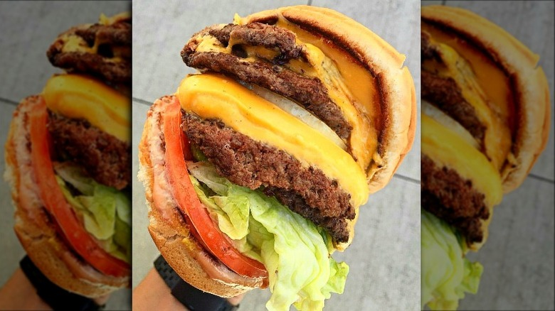 4x4 in n out burger