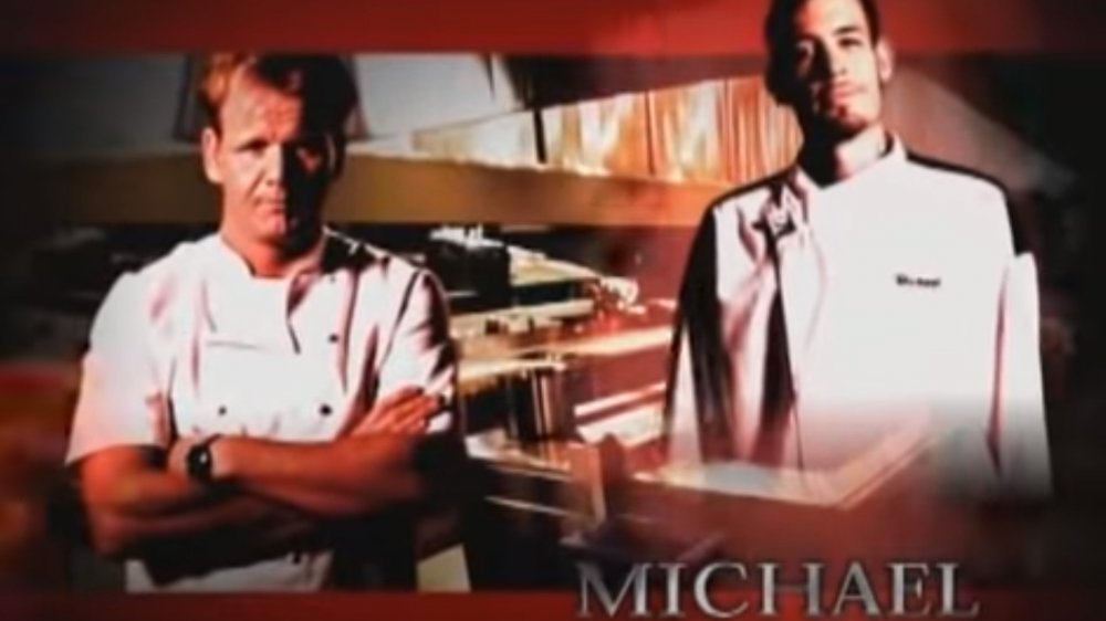 Michael Wray was on hell's kitchen