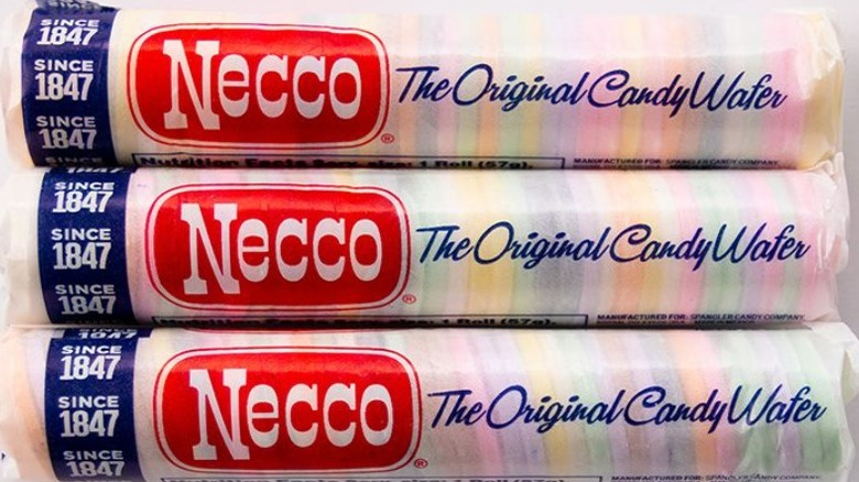 old-school candy Necco Wafers