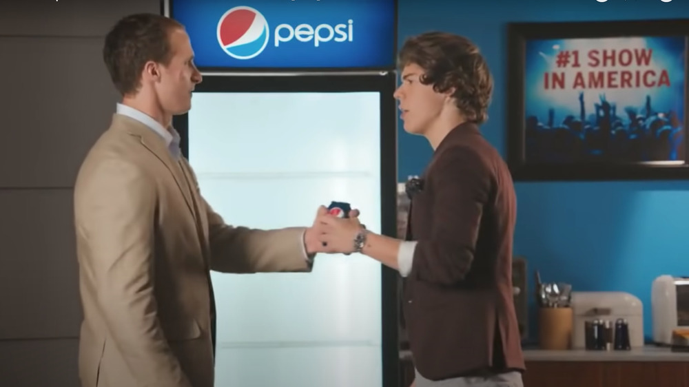 one direction drew brees super bowl pepsi commercial