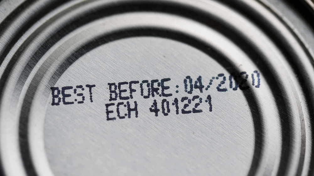 Expiration date on can from dollar store
