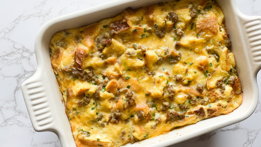 The Breakfast Casserole Recipe That Will Get Your Day Off To An Amazing Start