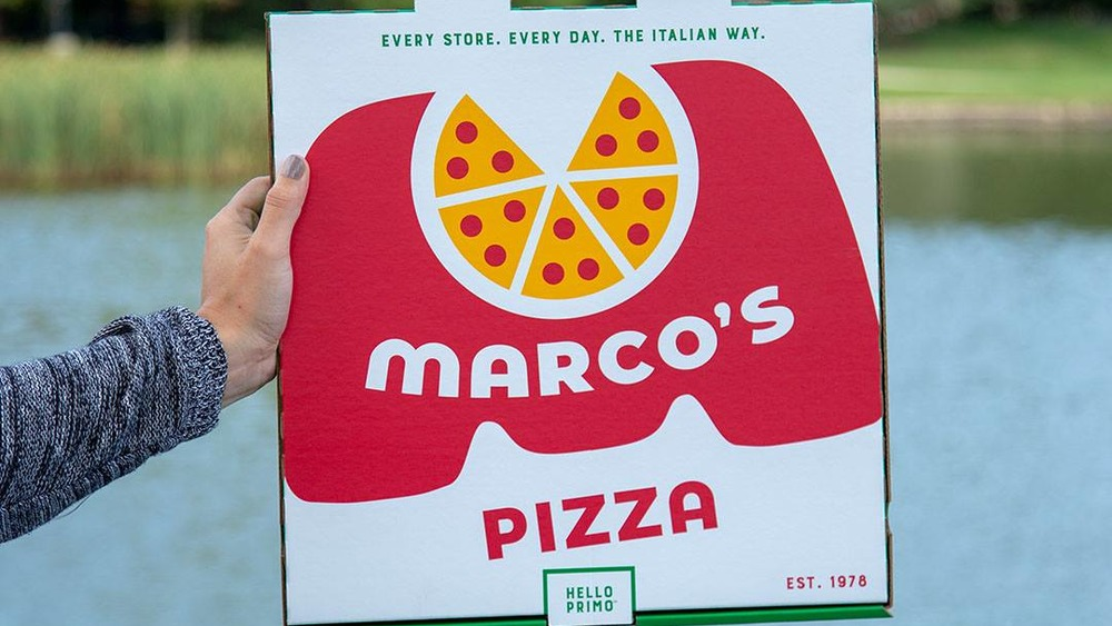 Marco's Pizza box