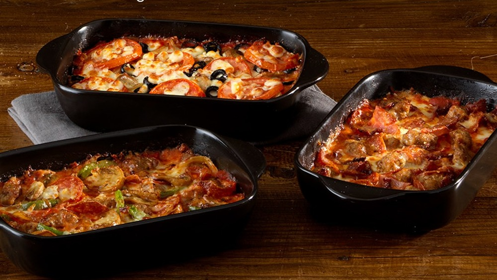 Pizza bowls from Marco's Pizza