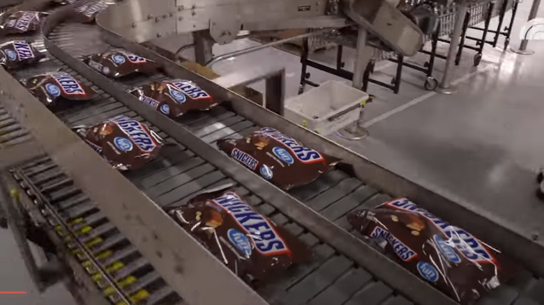 making snickers