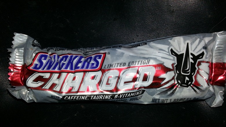 snickers charged