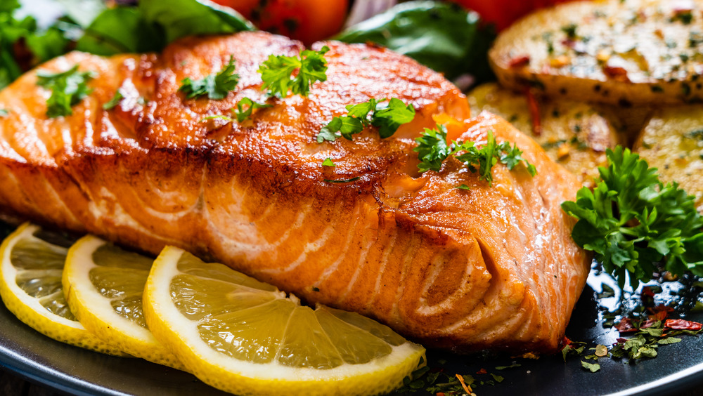 Grilled salmon shouldn't be cooked in air fryer