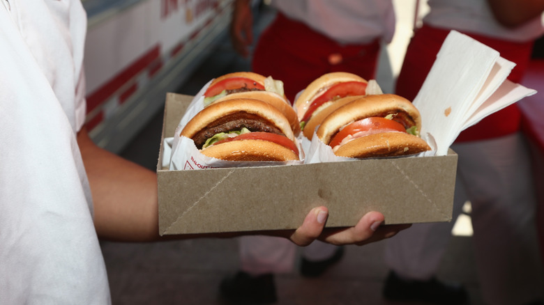 In-N-Out burgers