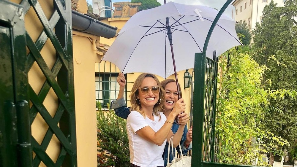 Giada with mother, Veronica De Laurentiis