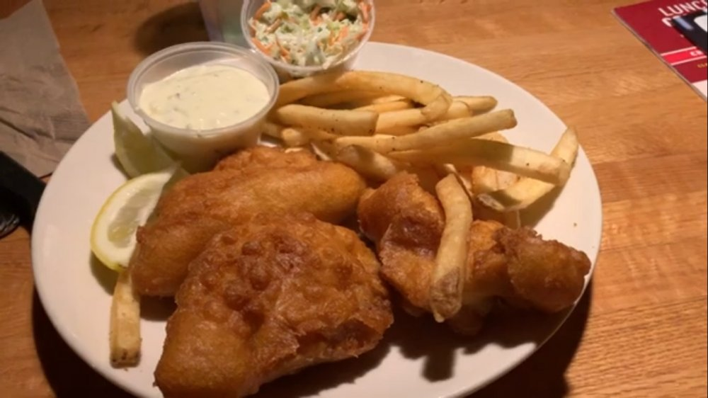 Applebee's Fish and Chips
