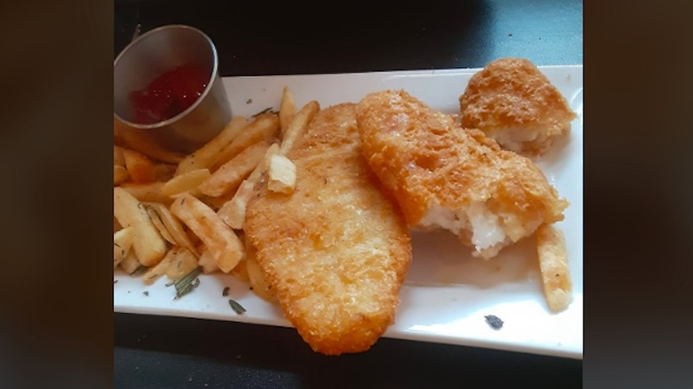Texas Roadhouse's fish and chips